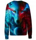 Dark & Light Meet womens sweatshirt