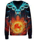 Celestial Fire womens sweatshirt