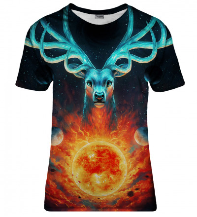 Celestial Fire womens t-shirt