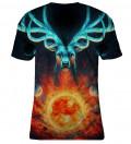 T-shirt damski Celestial Fire