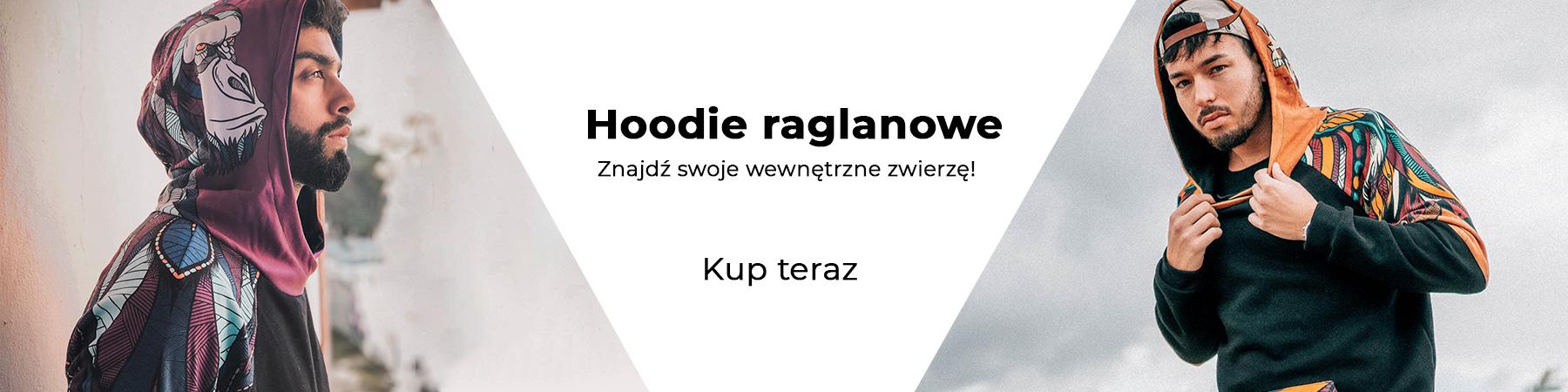 Hoodie raglanowe