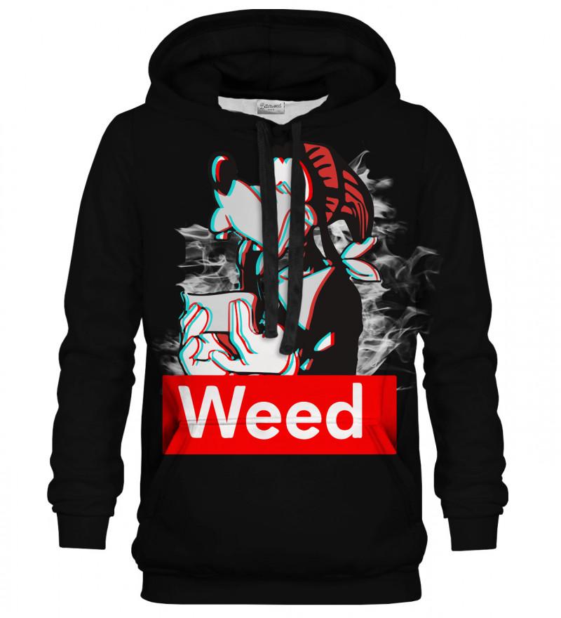 Weed Buddy black hoodie