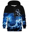 Bluza z kapturem Space Art black