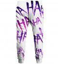 Spodnie dresowe Just Hahaha Violet