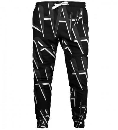Just Hahaha All Black sweatpants