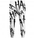 Just Hahaha BW sweatpants