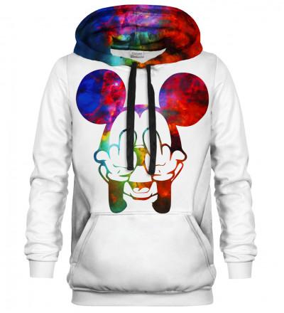 White Rebel Gradient hoodie
