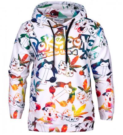 Pokebong hooded sweatshirt