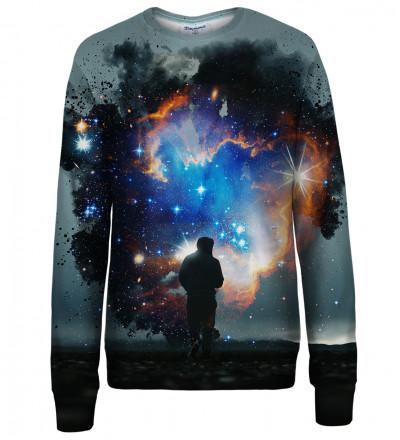 Step into the Galaxy womens sweatshirt