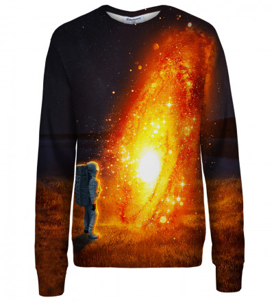 Fire Circle womens sweatshirt