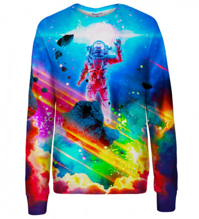 Colorful Nebula womens sweatshirt