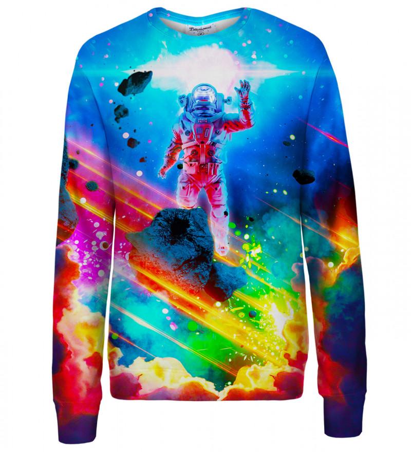 Colorful Nebula womens sweatshirt