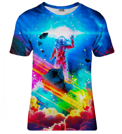 Colorful Nebula womens t-shirt