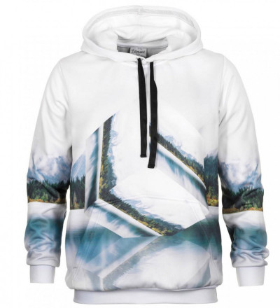 Geometric outlet hoodie