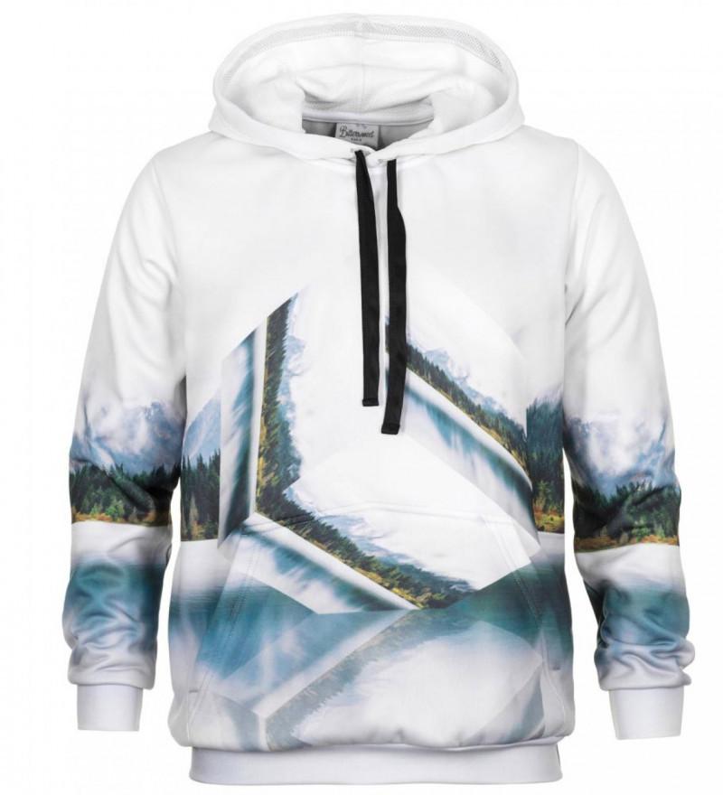 Geometric outlet hoodie