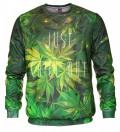 Weed outlet sweatshirt