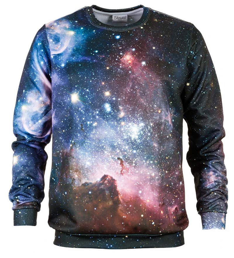 Purple Galaxy outlet sweatshirt