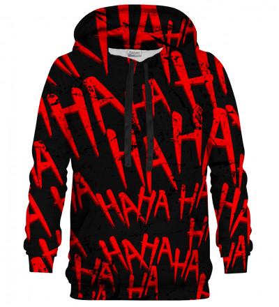 Just Hahaha Red hoodie