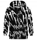 Just Hahaha White hoodie
