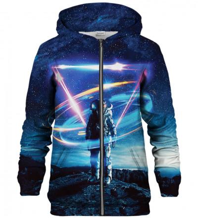 Astronaut zip up hoodie