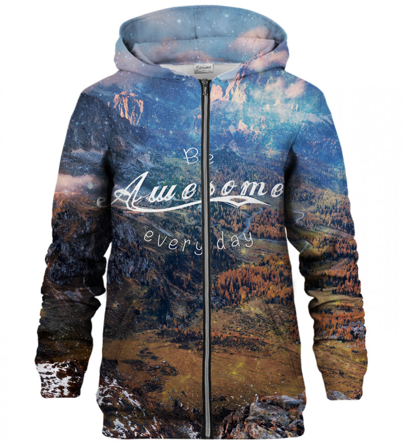 Awesome zip up hoodie