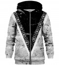 Aztec Pattern zip up hoodie