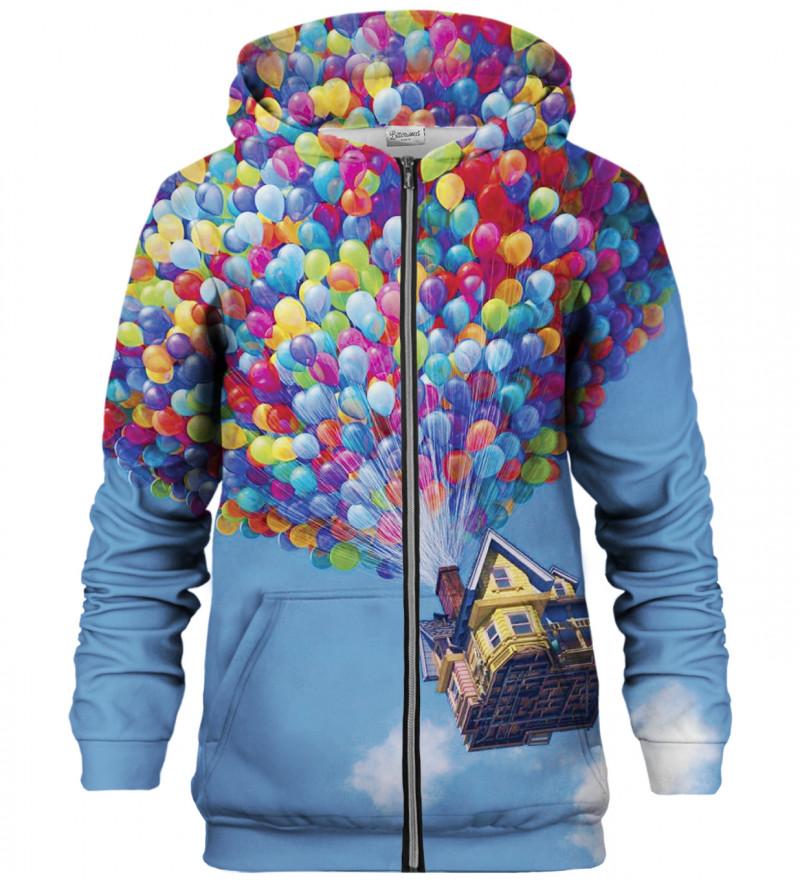 Balloons zip up hoodie