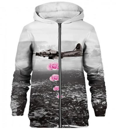 Banksy zip up hoodie