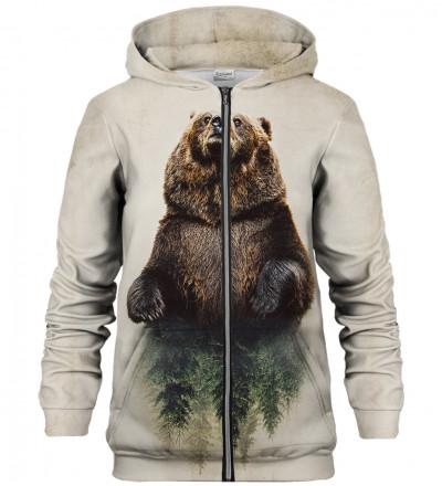 Bluza z zamkiem Bear