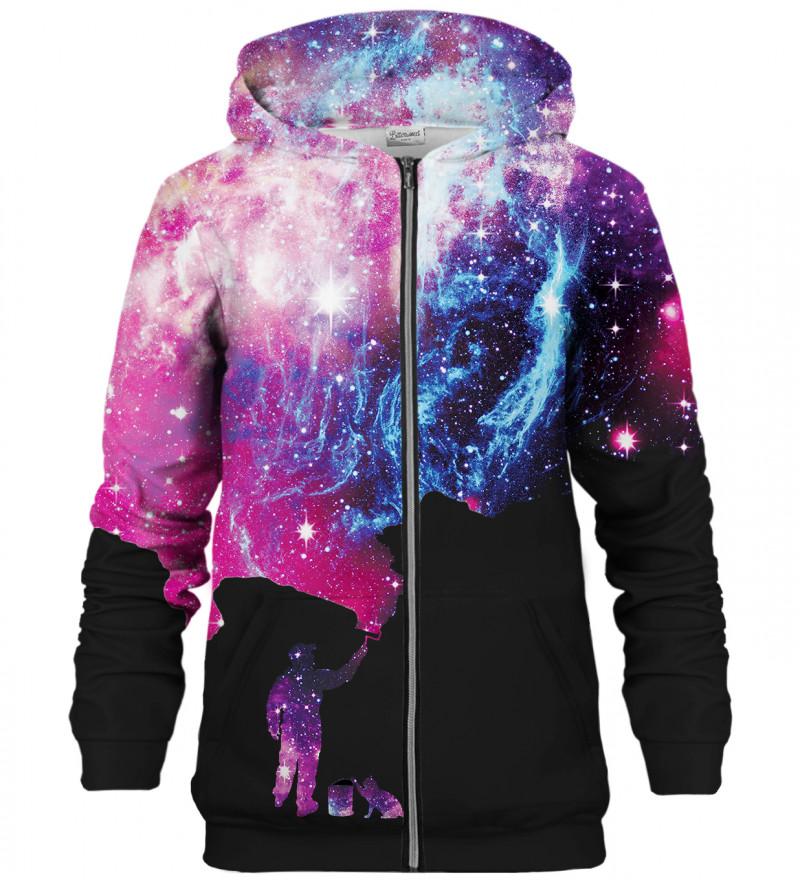 Black Painter zip up hoodie