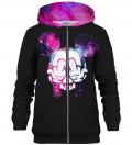 Black Rebel zip up hoodie