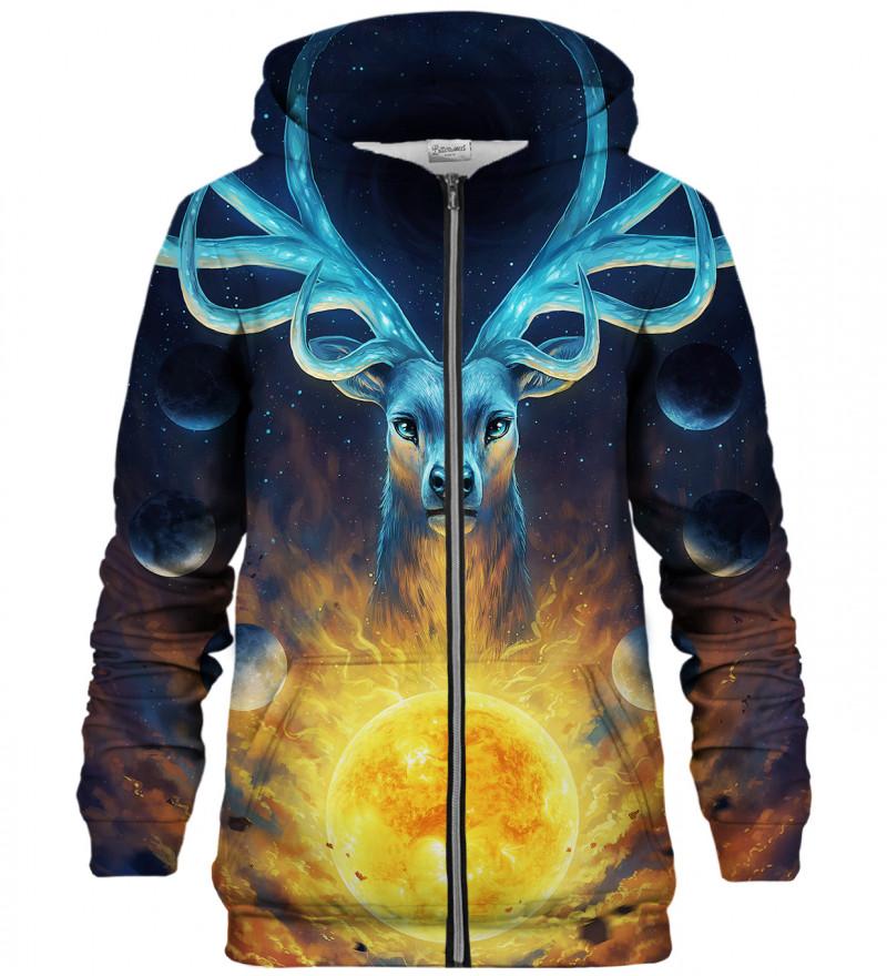 Celestial zip up hoodie