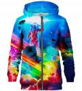 Colorful Nebula zip up hoodie