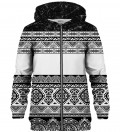 Culture Patterns zip up hoodie