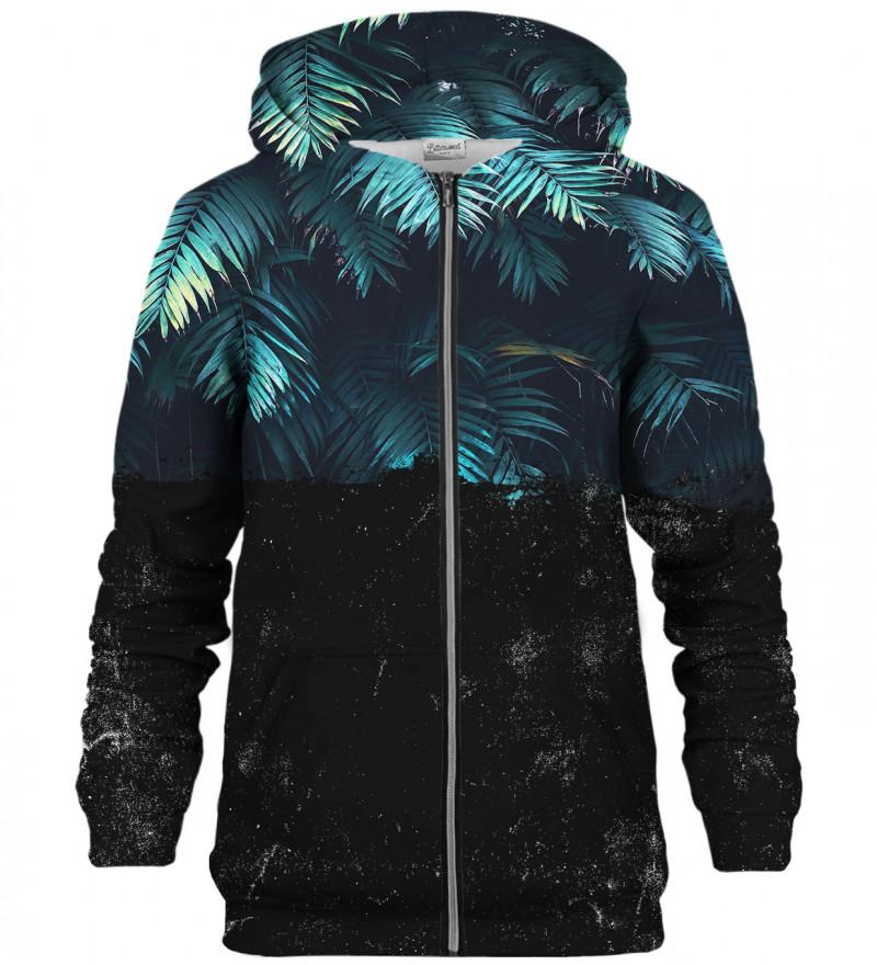 Dark Jungle zip up hoodie