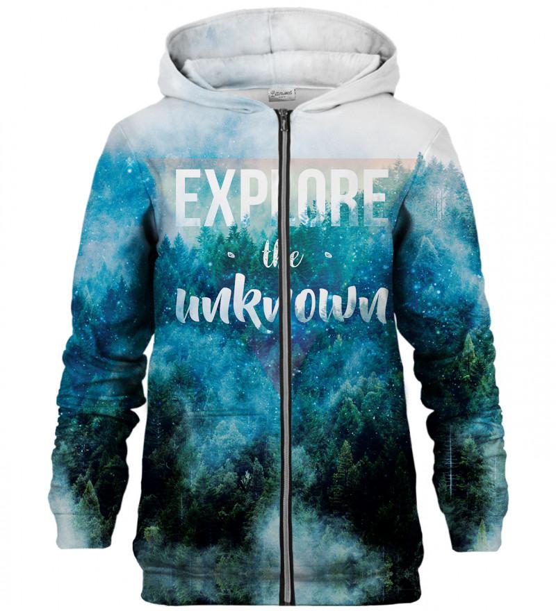 Explore zip up hoodie