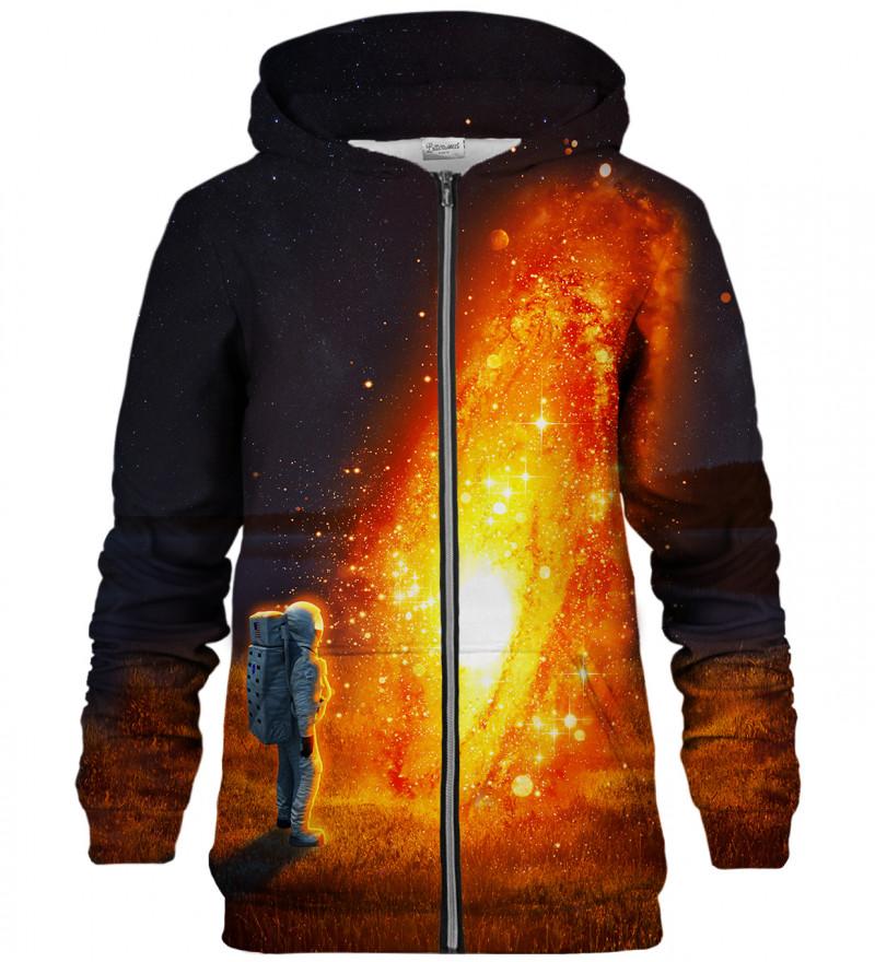 Fire Circle zip up hoodie