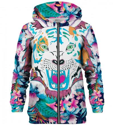 Bluza z zamkiem Flower Tiger