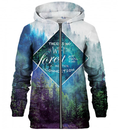 Forest zip up hoodie