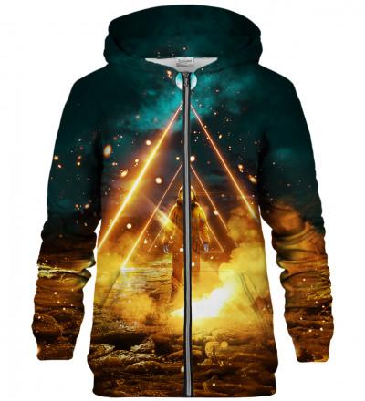 Galaxy zip up hoodie