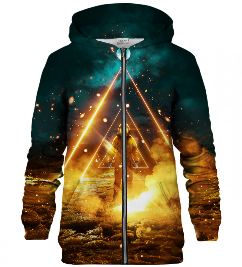 Galaxy zip up hoodie