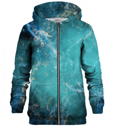 Galaxy Abyss zip up hoodie