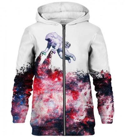 Galaxy Art zip up hoodie