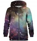 Galaxy Clouds zip up hoodie