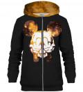 Golden Rebel zip up hoodie