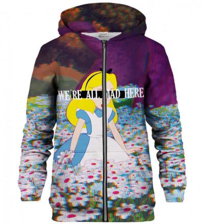 Mad Alice zip up hoodie