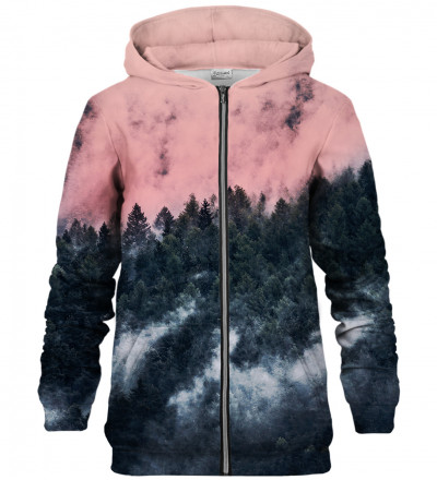 Mighty Forest zip up hoodie