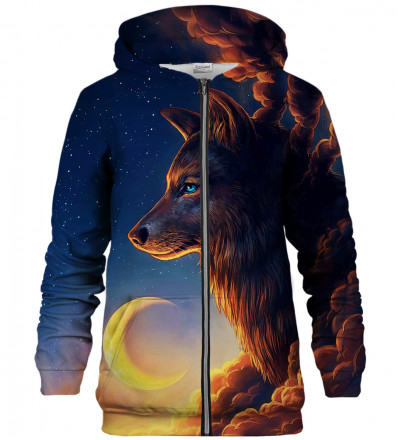 Night Guardian zip up hoodie