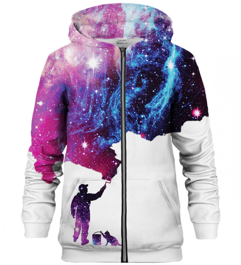 Painter zip up hoodie