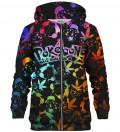 Pokebong Gradient zip up hoodie